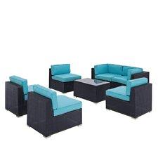 Camfora 7 Piece Deep Seating Group with Cushions