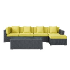 Signal 5 Piece Deep Seating Group with Cushion