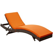 Peer Chaise Lounge with Cushion