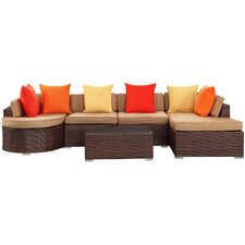 Montana 5 Piece Deep Seating Group with Cushion