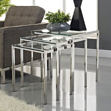 <strong>Modway</strong> Nimble 3 Piece Nesting Tables