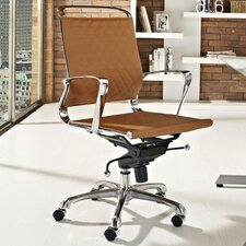 <strong>Modway</strong> Vibe Mid-Back Leather Office Chair