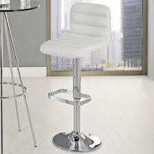 "Ripple 21.5"" Adjustable Bar Stool"