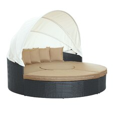 Quest Canopy 4 Piece Daybed Seating Group with Cushions