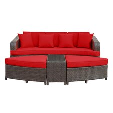 Monterey 4 Piece Deep Seating Group with Cushions