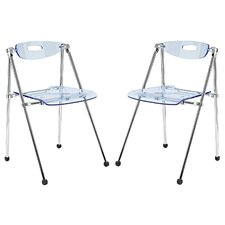 <strong>Modway</strong> Telescope Folding Chair (Set of 2)
