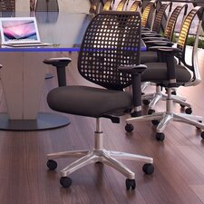 <strong>Modway</strong> Reverb Premium Mid-Back Office Chair with Arms
