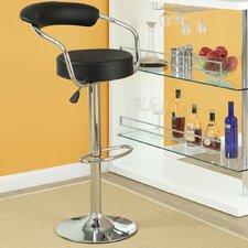 Diner Adjustable Height Swivel Bar Stool (Set of 3)