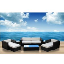 <strong>Modway</strong> Venice 8 Piece Deep Seating Group with Cushions