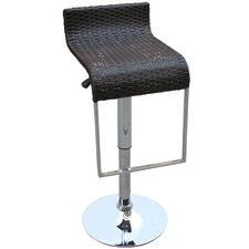 LEM Rattan Bar Stool