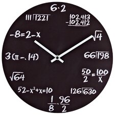 "Quiz 12"" Wall Clock"