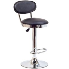 Retro Adjustable Height Bar Stool