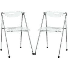 Telescope Folding Dining Side Chair (Set of 2)