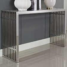 Gridiron Console Table