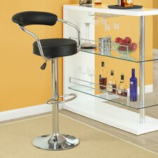 Diner Adjustable Height Swivel Bar Stool (Set of 4)