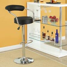 Diner Adjustable Height Swivel Bar Stool (Set of 2)