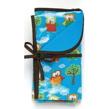Hoot Owls Reversible Blanket