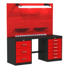 Fort Knox Basic Modular Steel Top Workbench