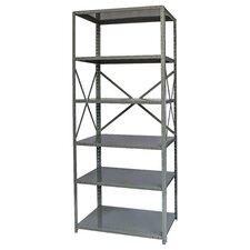 """Hi-Tech Free Standing 87"""" H Six Shelf Shelving Unit"""