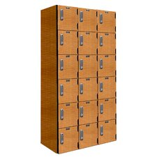 VersaMax 6 Tier 3 Wide Phenolic Locker