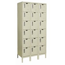 DigiTech Electronic Locker 6 Tier 3 Wide (Knock-Down) (Quick Ship)