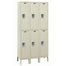 ReadyBuilt Locker Double Tier 3 Wide (Assembled) (Quick Ship)