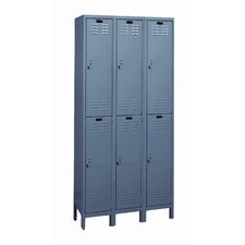 Value Max Locker Double Tier 3 Wide (Knock-Down) (Quick Ship)