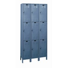 Value Max Locker Triple Tier 3 Wide (Knock-Down)