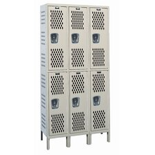 Heavy-Duty Ventilated (HDV) Assembled Locker (Quick Ship)