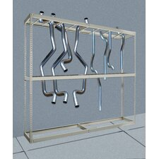 "Rivetwell Tailpipe Storage 120"" H Shelving Unit Starter"