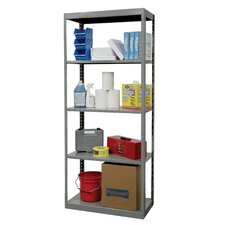 DuraTech Shelving Heavy-Duty Pass-Through Type Individual Unit with 5 Shelves