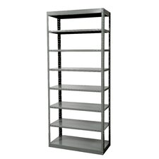 <strong>Hallowell</strong> DuraTech Shelving Heavy-Duty Pass-Through Type Individual Unit with 8 Shelves