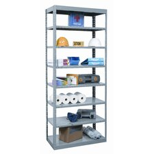 "Hi-Tech 87"" H 8 Shelf Shelving Unit Starter"
