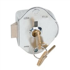 Built-In Grooved Key Lock