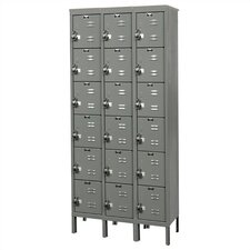 ReadyBuilt Locker 6 Tier 3 Wide (Assembled)