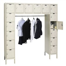 <strong>Hallowell</strong> Premium Stock Lockers - 16 Person (Assembled)