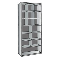 "Hi-Tech 87"" H 7 Shelf Shelving Unit"