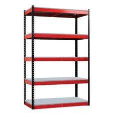 <strong>Hallowell</strong> Fort Knox Rivetwell Shelving Unit with FeatherDeck