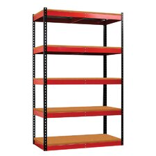 "Rivetwell Fort Knox 78"" H 5 Shelf Shelving Unit"