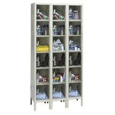 Safety-View Plus Locker 6 Tier 3 Wide (Knock-Down) (Quick Ship)