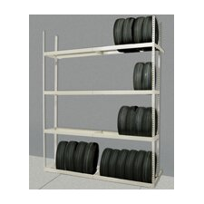 Rivetwell Shelving Tire Storage Add-On Unit with 4 Levels