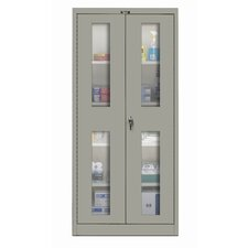 <strong>Hallowell</strong> 400 Series Stationary SV Knock-Down Storage Cabinet