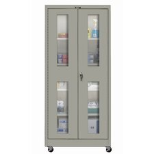 <strong>Hallowell</strong> 400 Series Mobile SV Knock-Down Storage Cabinet