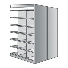 "Deep Bin 87"" H 7 Shelf Shelving Unit Starter"