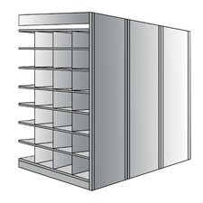 "Deep Bin 87"" H 8 Shelf Shelving Unit Add on"
