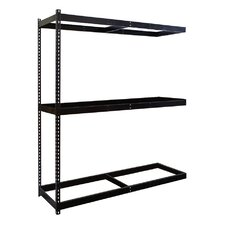 Rivetwell Double Rivet Boltless Knock-Down 3 Shelf Shelving Unit Add-on