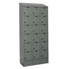 ReadyBuilt II 6 Tier 3 Wide Box Locker