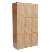 <strong>Hallowell</strong> All-Wood Club Assembled Locker (Quick Ship)