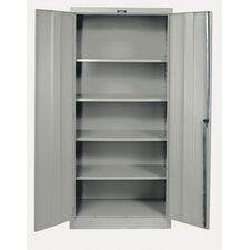 400 Series Stationary Solid Knock-Down Storage Cabinet