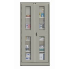 "400 Series 36"" Stationary Ventilated Knock-Down Storage Cabinet"